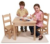 Melissa & Doug Wooden Table & 2 Chairs