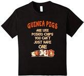 Women's Farm n' Fancy: Guinea Pigs Are Like Potato Chips T Shirt Large