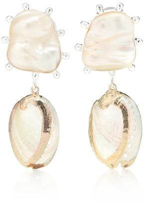 PEET DULLAERT Vaia 14-karat gold-plated earrings