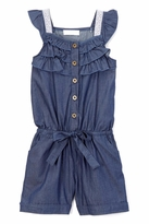 No Name Girl's Denim Romper