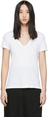 Rag & Bone White The Vee T-Shirt