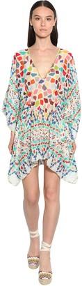 Missoni Printed Lame Cover Up Mini Dress
