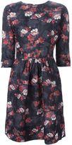 Ermanno Scervino floral jacquard dress