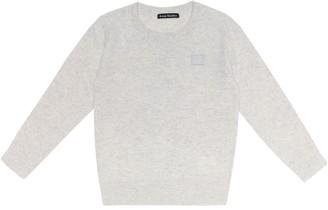 Acne Studios Kids Mini Face wool sweater
