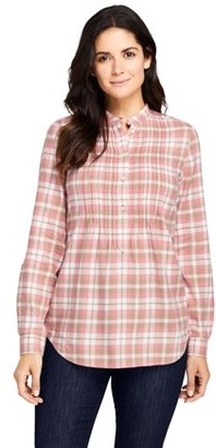 Lands' End Women's Flannel Tunic