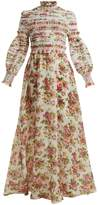 Zimmermann Radiate smocked dress