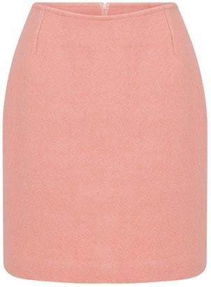 Little Mini Pinky Wool Skirt