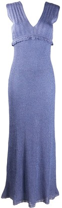 M Missoni Sleeveless Lurex Maxi Dress