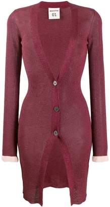 Semi-Couture Semicouture fitted knitted cardigan