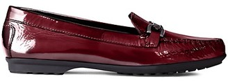 Geox Elidia Patent Leather Penny Loafers
