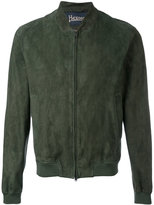 Herno zipped jacket - men - Cotton/Goat Skin/Polyamide/Modal - 54