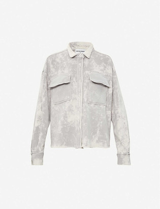 Cotton Citizen The Brooklyn Button faded cotton jacket
