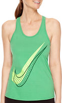 Nike Shadow Dot Racerback Tank Top