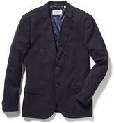 Original Penguin Crosshatch Nep Slim Fit Suit
