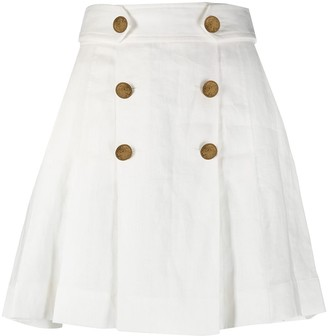 Zimmermann Button-Detail Tailored Shorts