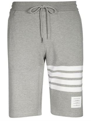 Thom Browne Light Grey Classic Shorts