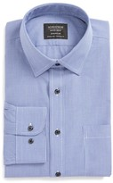 Nordstrom Men's Smartcare(TM) Traditional Fit Micro Check Dress Shirt