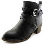 XOXO Luka Pointed Toe Synthetic Bootie.