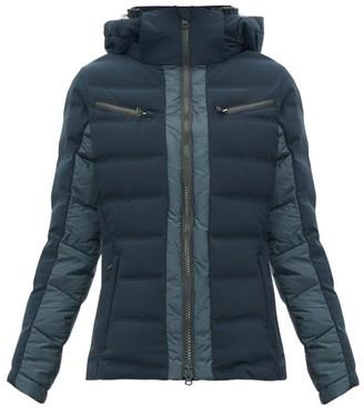 Capranea - Vanta Down-filled Quilted Ski Jacket - Dark Grey