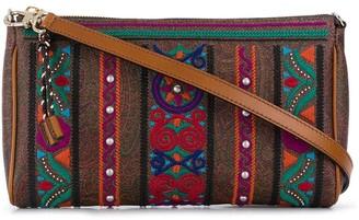 Etro Embroidered-Design Shoulder Bag