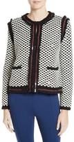 Tory Burch Women's Petra Sequin Embellished Cardigan