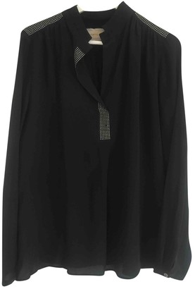 Thomas Rath Black Silk Top for Women