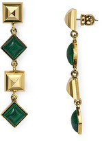 Diane von Furstenberg Linear Drop Earrings