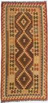 Ecarpetgallery eCarpet Gallery 196780 Hand-Woven Anatolian Kilim Geometric 3' x 6' 100% Wool Area Rug