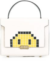 Anya Hindmarch small 'Pixel Smiley Bathurst' satchel