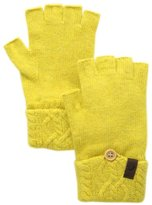 True Religion Women's Cable Knit Fingerless Glove