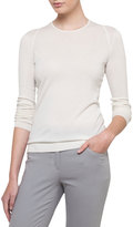 Akris Cashmere-Silk Long-Sleeve Pullover