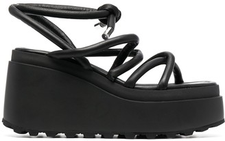Vic Matié Strappy Platform Sandals