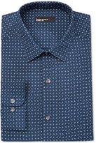 Bar III Men's Slim-Fit Pine-Print Dress Shirt, Only at Macy's