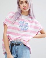 Lazy Oaf Not Right Now T-shirt
