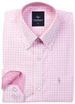 Tailorbyrd Pink Gingham Dress Shirt (Big Boys)