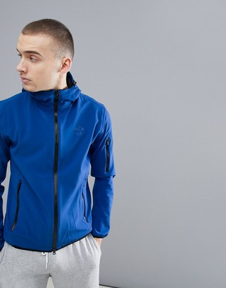 North Sails Raymond Softshell Jacket With Double Hood In Blue