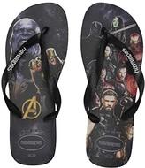 Havaianas Top Marvel (Black/Black) Sandals
