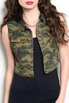 Ooh La La Boutique Camouflage Vest