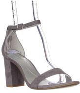 Bandolino Armory Heeled Ankle Strap Sandals, Grey.