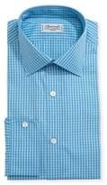 Charvet Mini-Check Cotton Dress Shirt