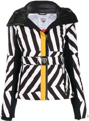 Rossignol stripe ski jacket
