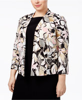 Kasper Plus Size Beaded Blazer