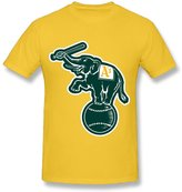 Enlove Oakland Athletics Slim T Shirts For Man Size XXL
