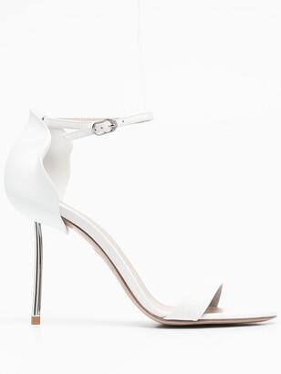 Le Silla Metal-Heel Sandals