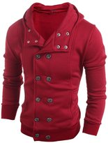 Men Long sleeve Top Changeshopping 1 PC Boys Autumn Winter Hooded Sweater Blouse (XXL, )