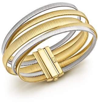 Marco Bicego 18K White & Yellow Gold Masai Five Strand Crossover Bracelet