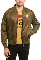 Valentino Silk-Trim Jacket