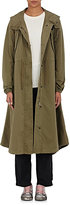 MM6 MAISON MARGIELA Women's Cotton Hooded Anorak-DARK GREEN