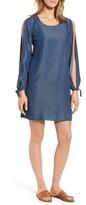 KUT from the Kloth Women's Destiny Slit Sleeve Denim Dress