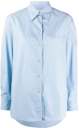 MM6 MAISON MARGIELA Stitch Detail Striped Shirt